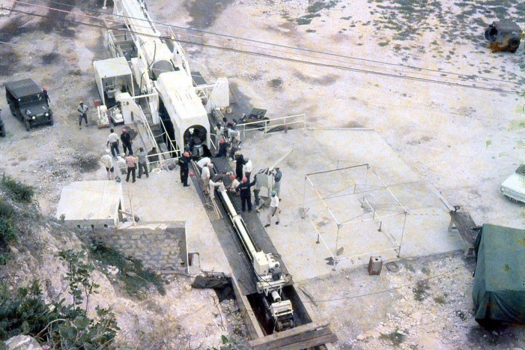 HARP - Martlet missile ready for firing