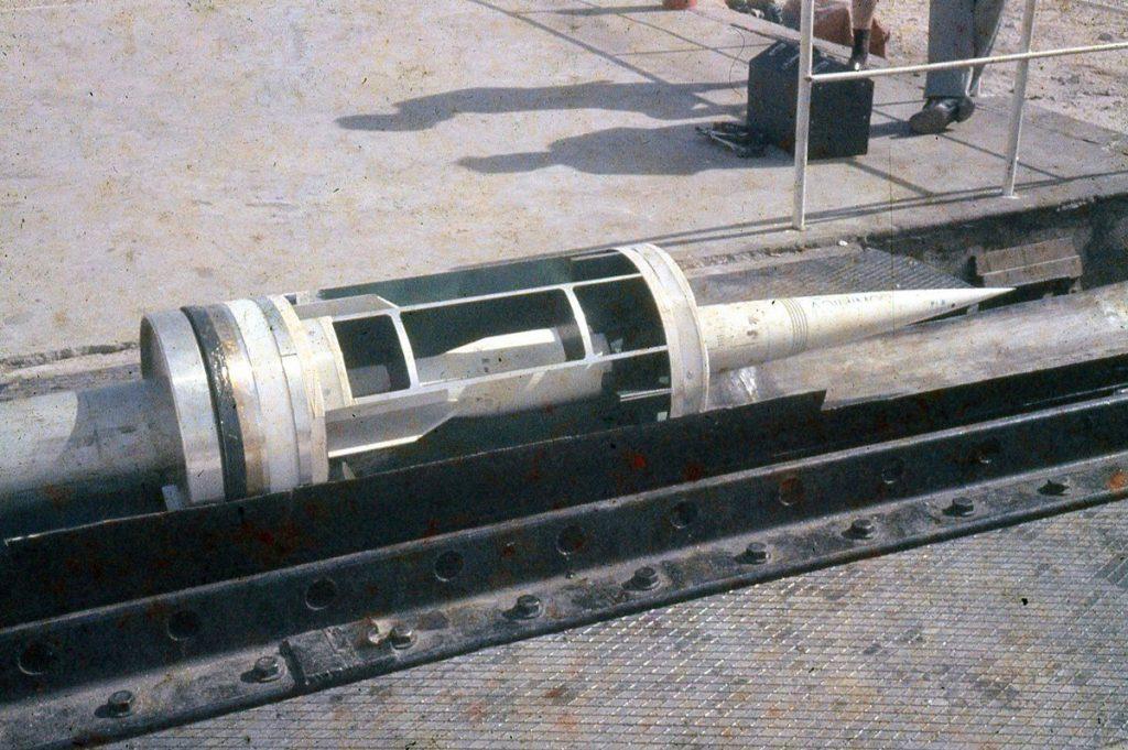 HARP - Martlet missile