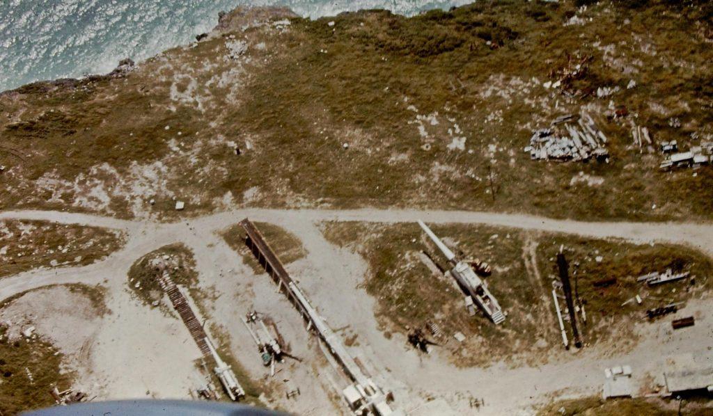 HARP aerial photo 1970