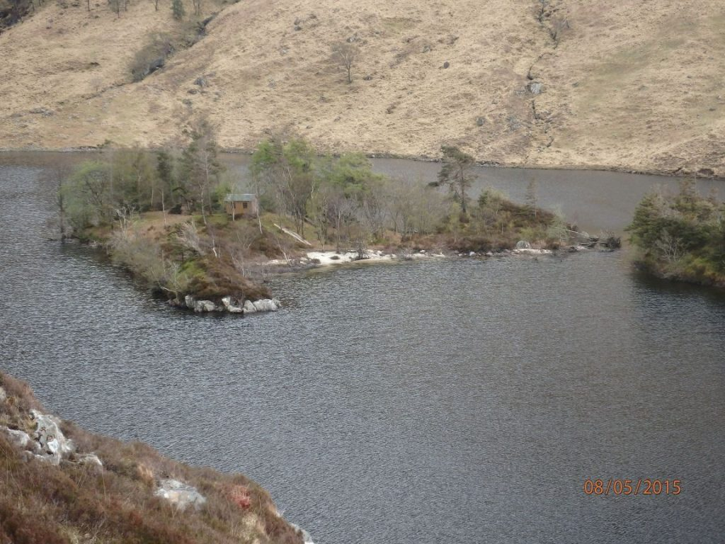 A nice campsite in Loch Beoraid - if you have a boat.
