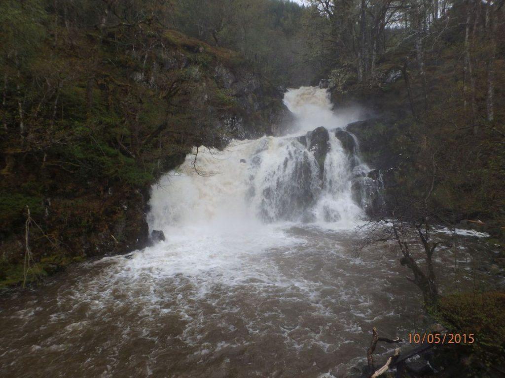 Eas Chia-aig Waterfall.