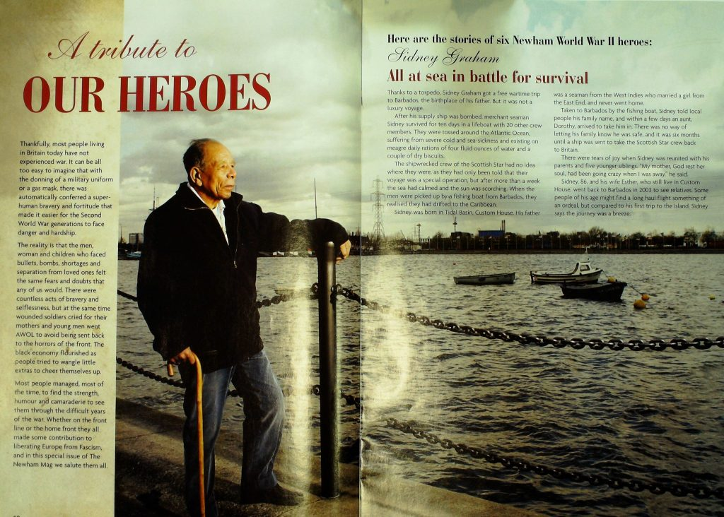 Sidney Graham 2005 A forgotten Bajan WWII hero