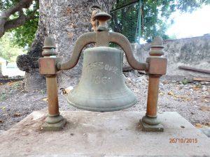 Salvaged SV Countess of Ripon ship's bell.