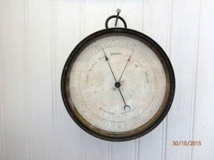 Salvaged SV Countess of Ripon ship's barometer