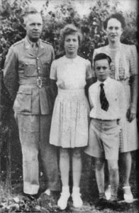 Captain and Mrs Weatherhead, Doreen and Harold.