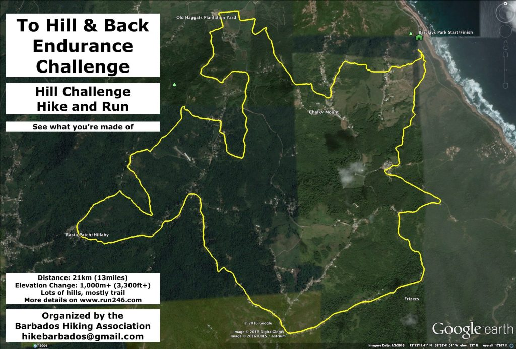 Hill Challenge - Route