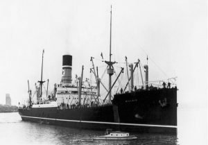 The Blue Star Line - SS Scottish Star