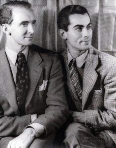 Antony Tudor and Hugh Laing by Carl Van Vechten, 1940.