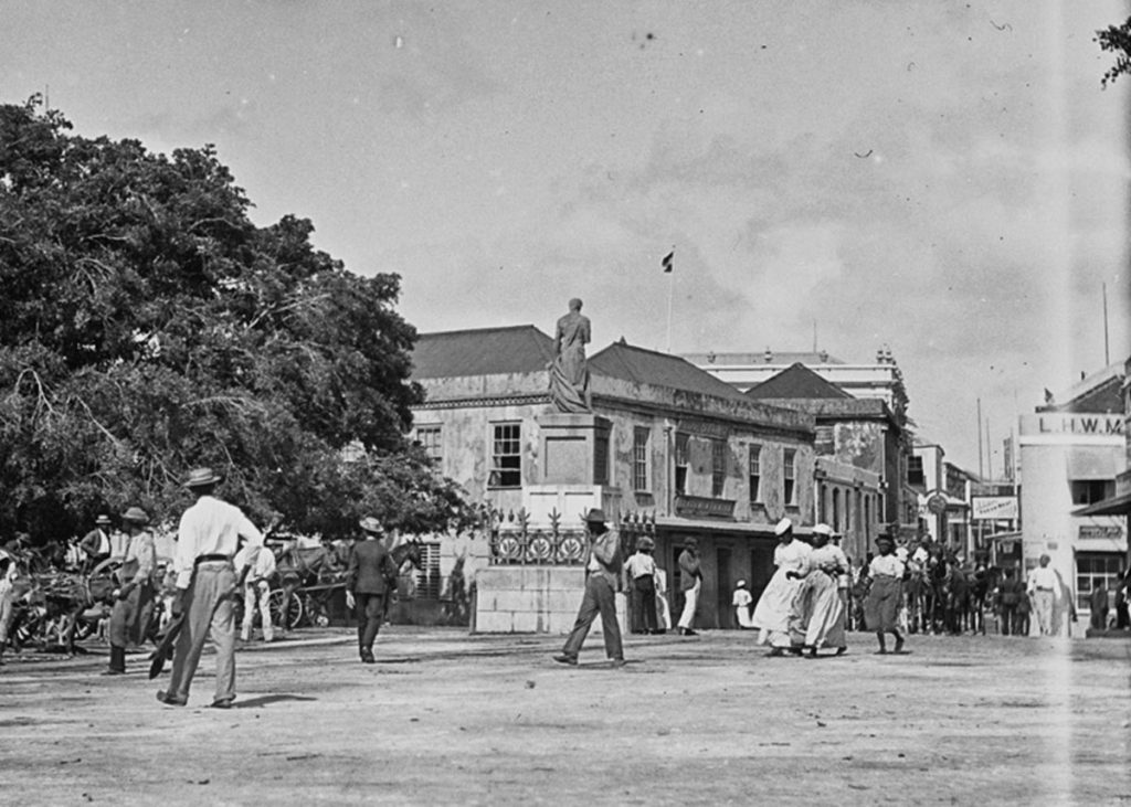 Horatio Nelson, Trafalgar Square, Bridgetown, Barbados