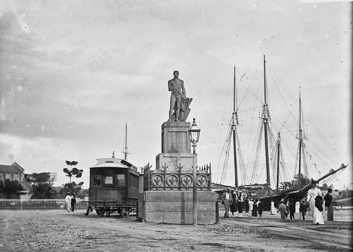 Statue of Horatio Nelson, Trafalgar Square, Bridgetown, Barbados