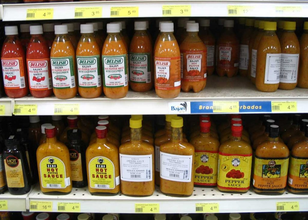 Bajan Hot Pepper Sauce