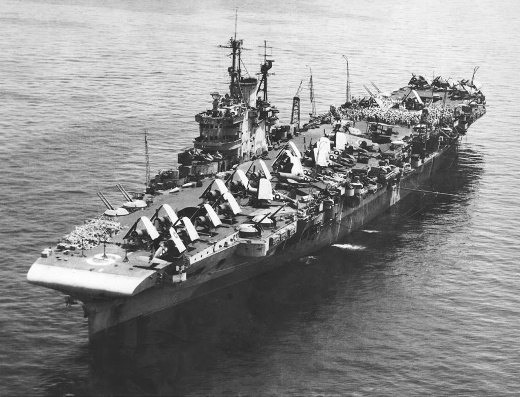HMS Victorious 1942 commanded by Bajan Henry C. Bovell