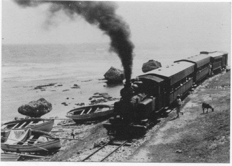 East Coast - Barbados Railway 1883 to 1937