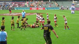Hong Kong Sevens 2014 Sandy Bay team