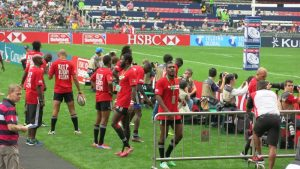 Hong Kong Sevens 2014 - Trini team