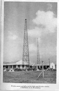 C&W Barbados Boarded Hall Transmitting Station