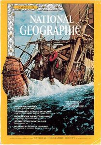 Ra II National Geographic cover January 1971