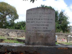 Adam Straw Waterman headstone