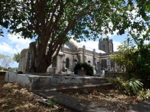 AS Waterman family grave - St Georges Church Barbados