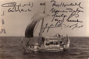 The Ra II Expedition signed photograph