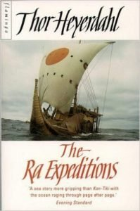 Book jacket: The Ra Expeditions