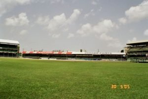 The old Kensington Oval, Barbados