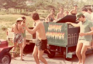 Blue Box Cart 1984