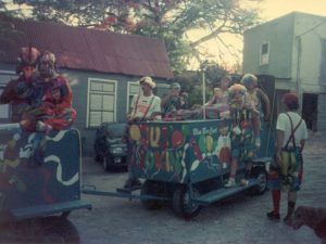 Blue Box Cart - 1989