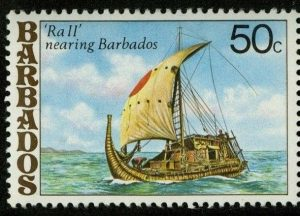 The Ra II Expedition stamp