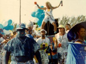 Blue Box Cart - 1991