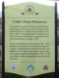 Codd's House Monument