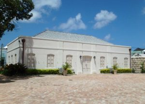 The Nidhe Israel Synagogue, Rabbis' house Barbados