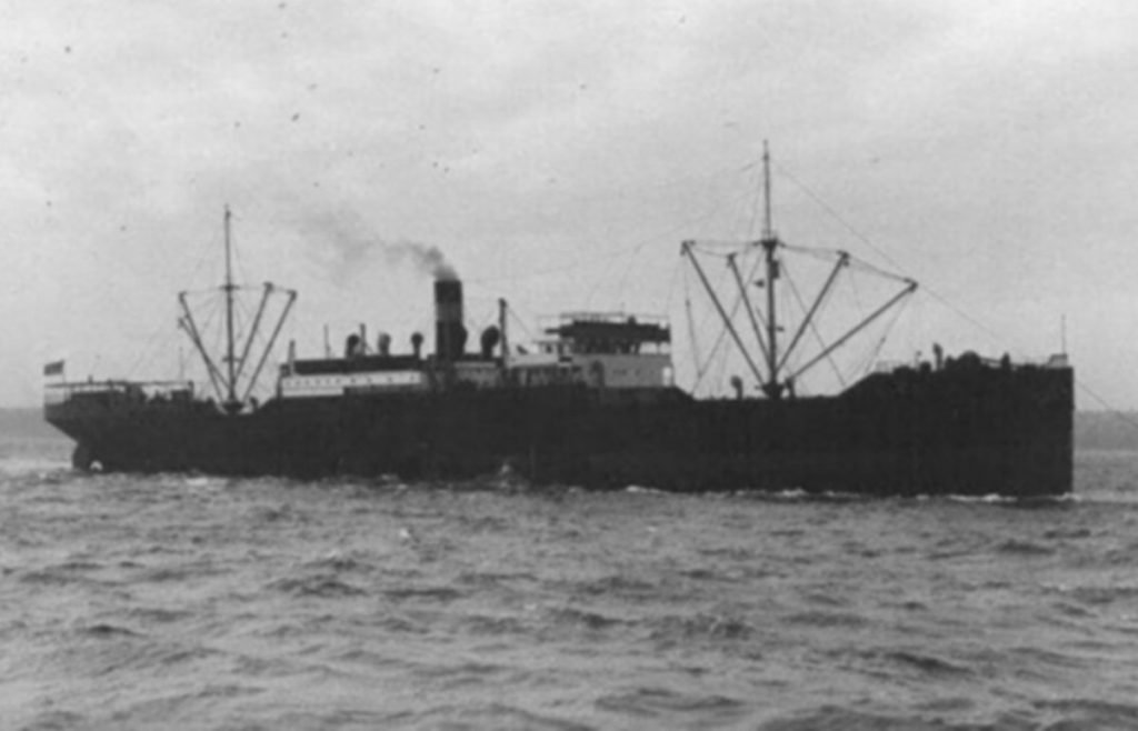 SS Quaker City torpedoed by U-156