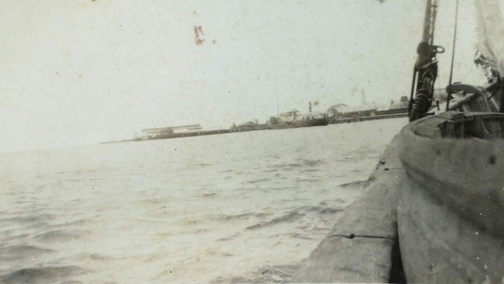 Stelling wharf, Georgetown, British Guiana - 1939