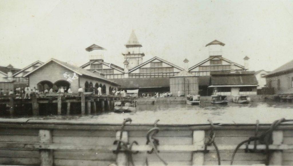 Stelling wharf, Georgetown, British Guiana -1939