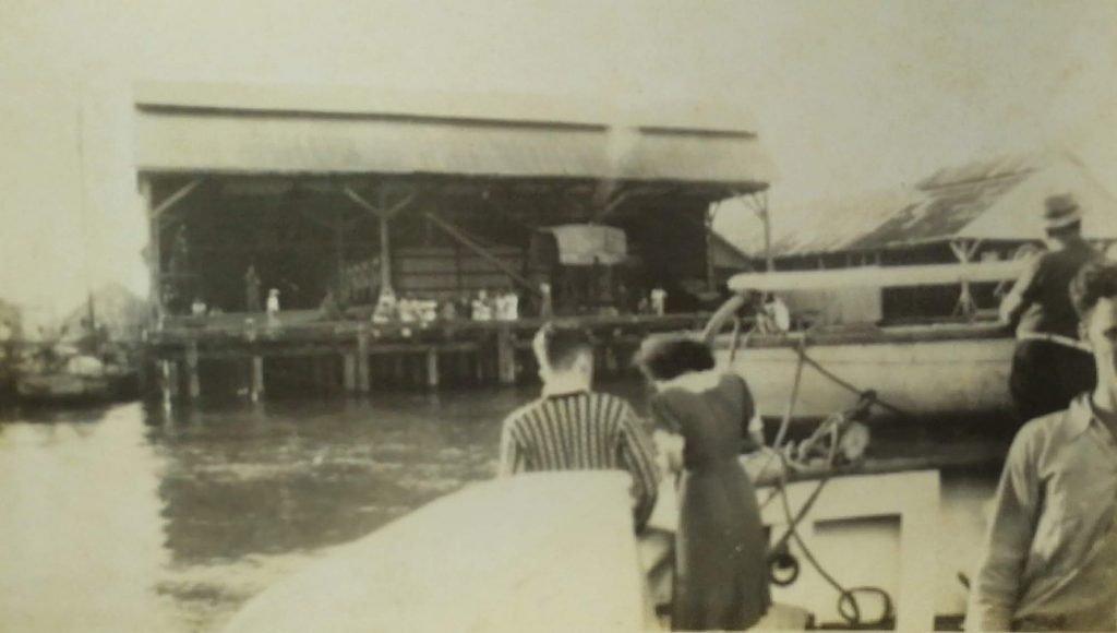 Stelling waft, Georgetown, British Guiana - 1939