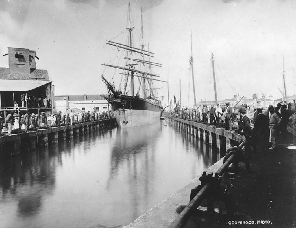 Blackwood Screwdock - turn of twentieth century