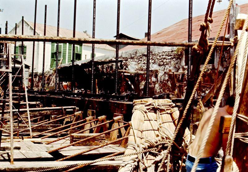 RA II in Blackwood Dry Dock -1970 Jim Webster