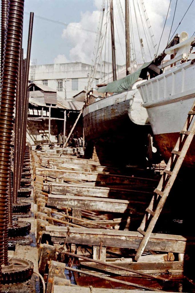 Blackwood Dry Dock -1970 Jim Webster