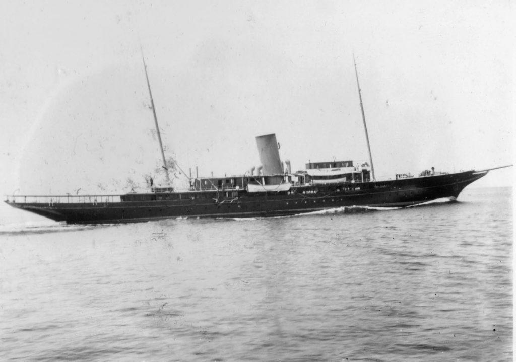 HMS Black Bear before her WWII refit