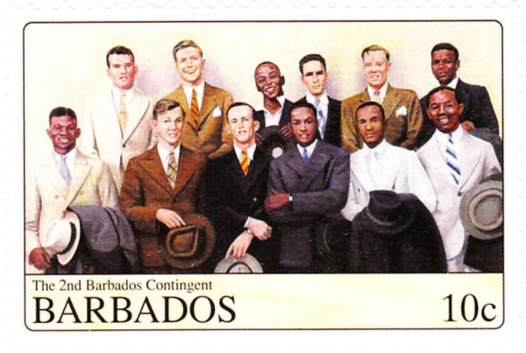 Barbados Second Contingent -November 1940 - Barbados Stamp