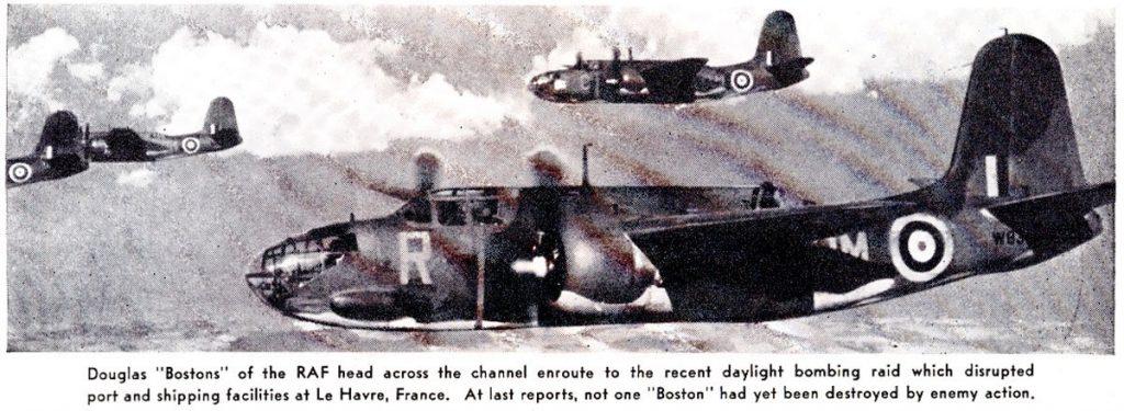 88 Squadron RAF Douglas Bostons
