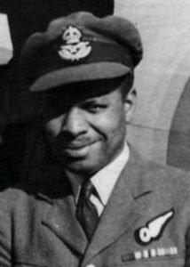 Flying Officer Errol Barrow RAF