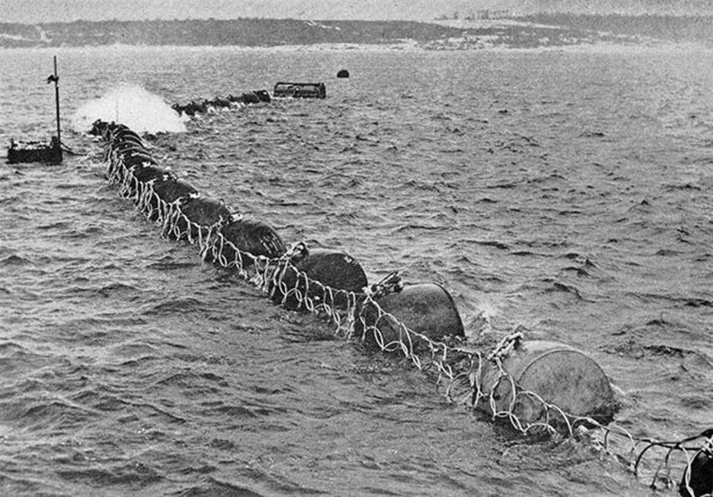 Anti torpedo net