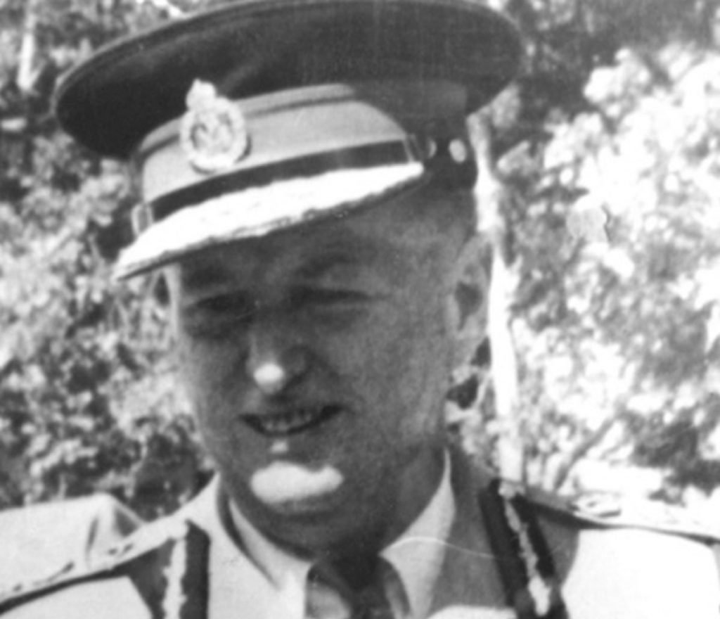 Col. Reginald Michelin, Commissioner of Police, Barbados, 1949 to 1953