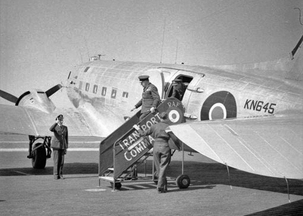 RAF Dakota IV. KN645 a VIP kitted out aircraft