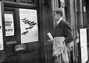 Euston RAF Recruiting Station -1940