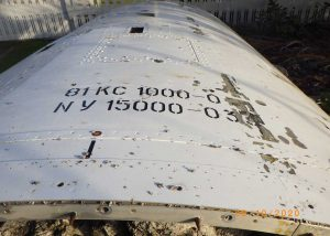 Soyuz VS23 payload fairing - Bath