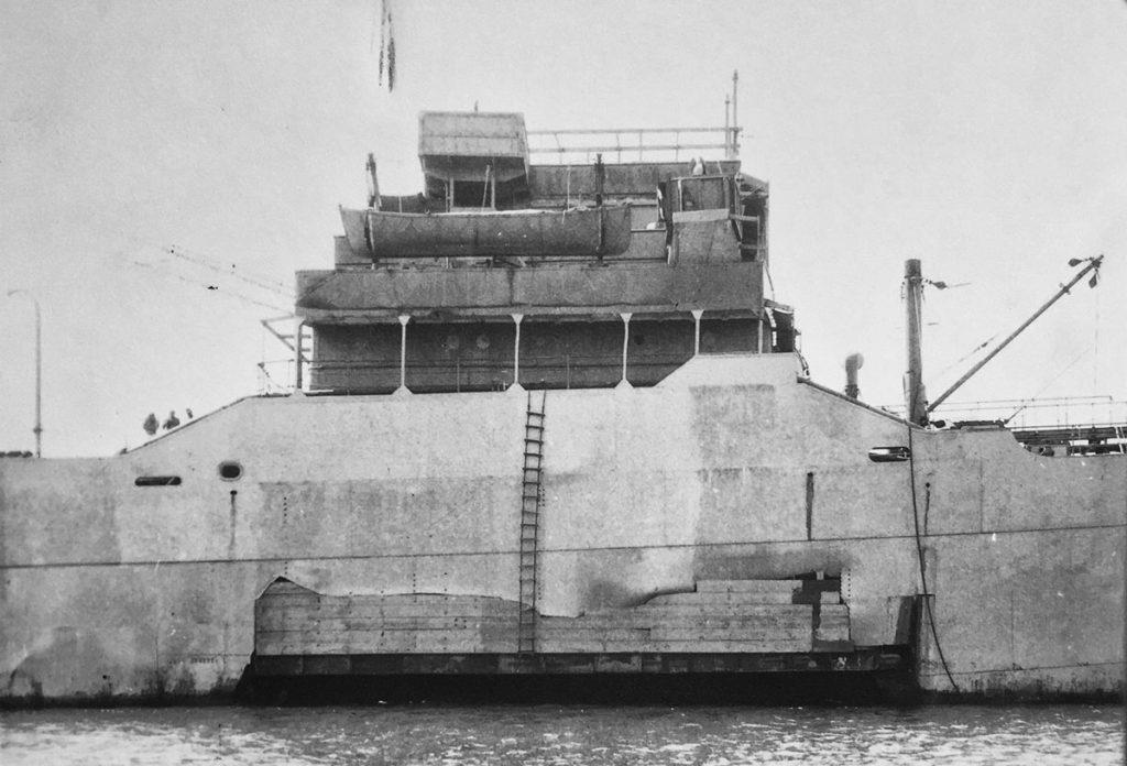 CNS Cornwallis in Carlisle Bay 1942