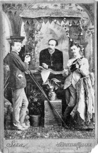 Júlio Siza with his sons Manuel and Henrique Nunes